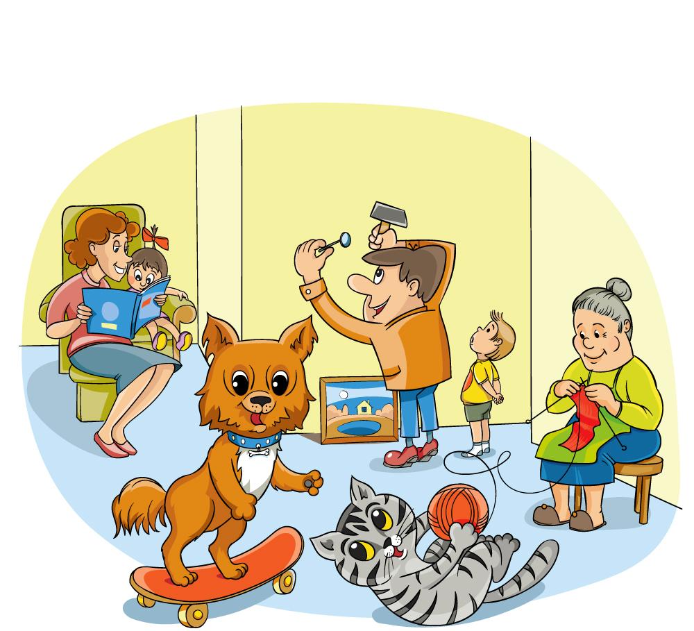 Рисунок для обложки детского журнала