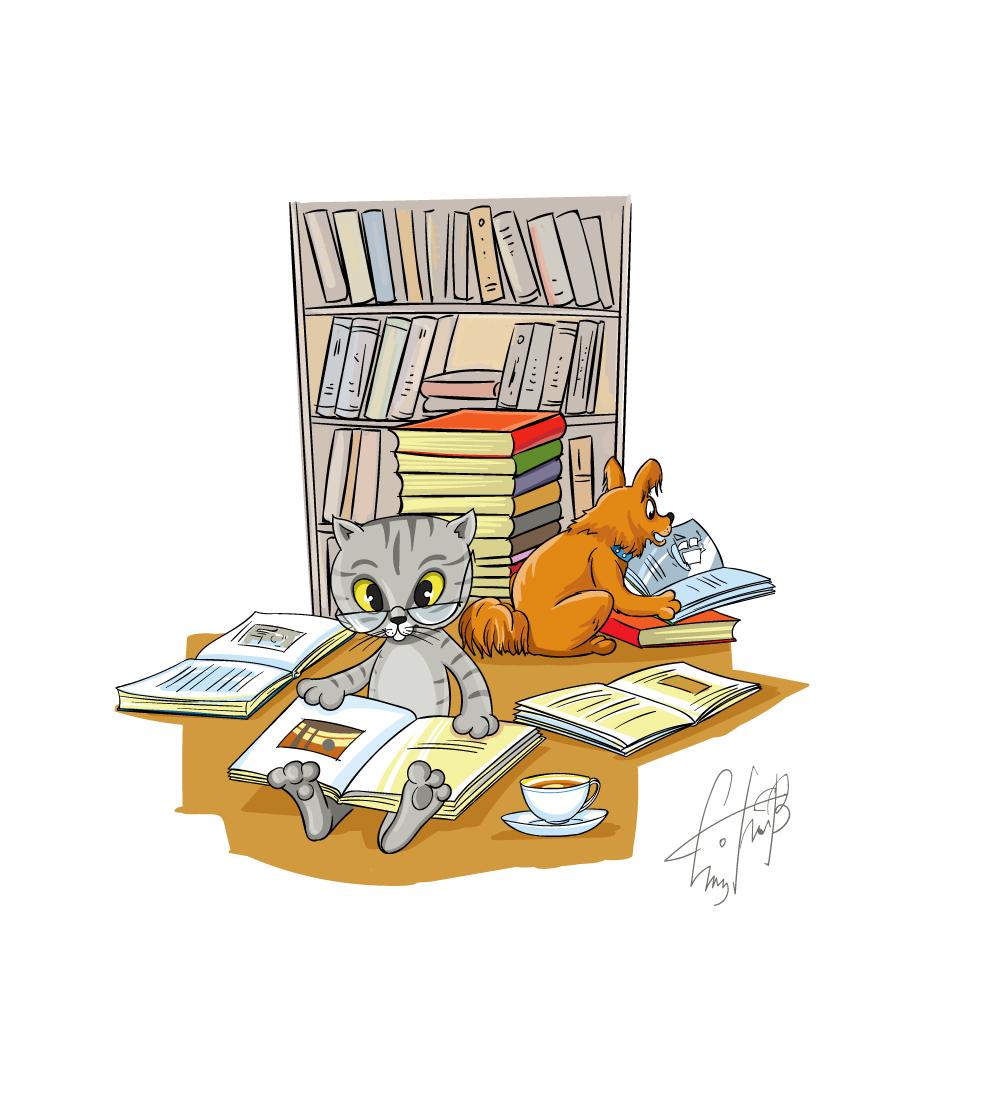 Рисунок для детского журнала